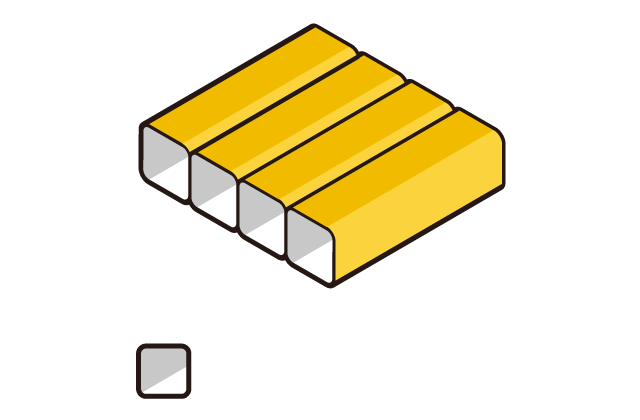 Box quilt construction