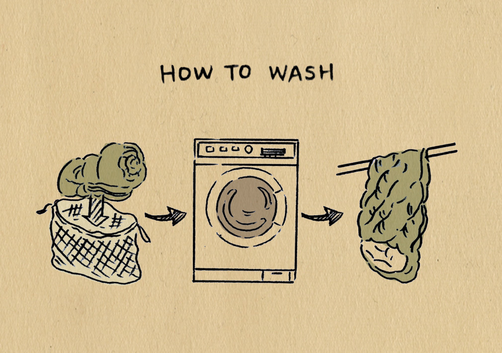 How to wash DOWN SLEEPING BAG