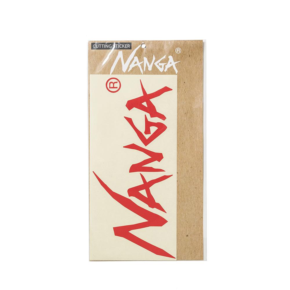 NANGA LOGO CUTTING STICKER (LARGE)