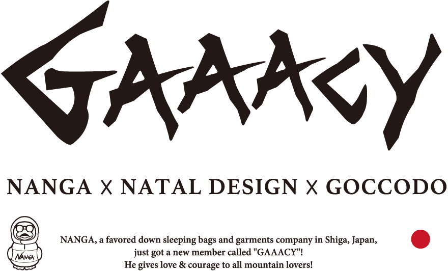 GAAACY - NANGA × NATAL DESIGN × GOCCODO