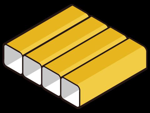 ボックスキルト構造