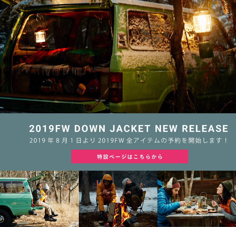 2019FW DOWN JACKET NEW RELEASE